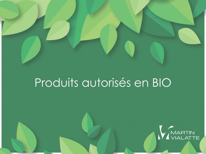 Produits Autorisés En Bio